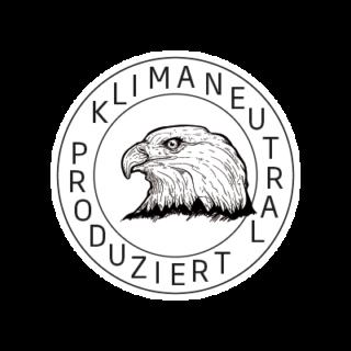 Logo Klimaneutral Kampagne Adler