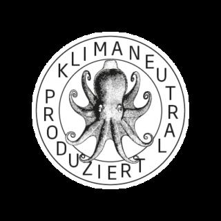 Logo Klimaneutral Kampagne Oktopus