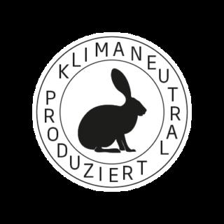 Logo Klimaneutral Kampagne Hase