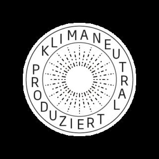 Logo Klimaneutral Kampagne Sonne