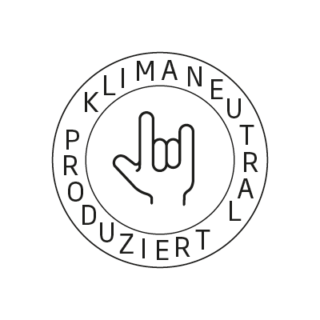 Logo Klimaneutral Kampagne rockt
