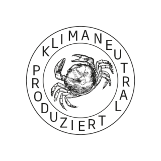 Logo Klimaneutral Kampagne Krebs