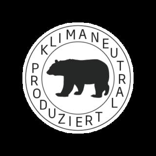 Logo Klimaneutral Kampagne Eisbär