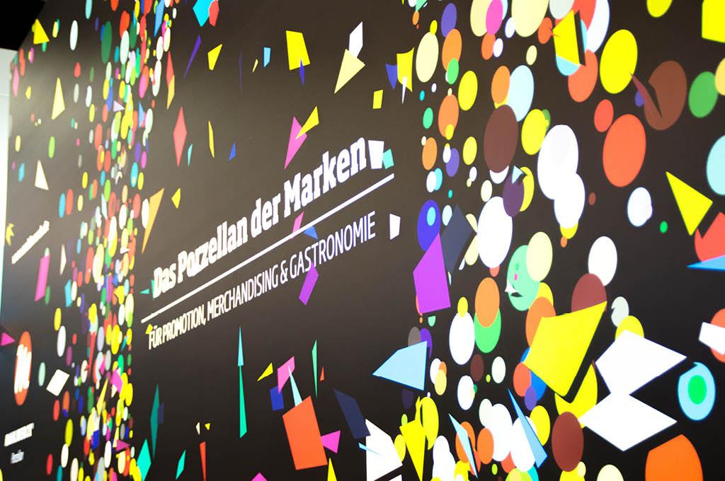 Visuelles Markendesgin von Mahlwerck-Porzellan auf PSI Messe