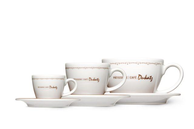 Produktabbildungen für Marken verschiedene Porzellantassen für Patisserie Café Dukatz