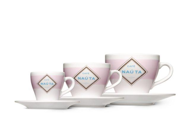 wie gestalte ich Produktabbildungen Tassen für Kaffee Nauta